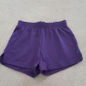 😎SOFFE Juniors Jersey Shorts Sz XS Purple